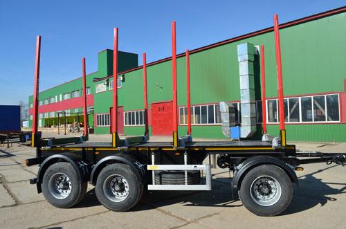 Переоборудование грузовых автомобилей - прицепы сортиментовозы
